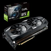 VC, ASUS DUAL-RTX2080-A8G, 8GB GDDR6, 256bit, PCI-E 3.0