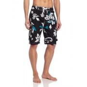 Kanu Surf Men's Oahu Swim Trunk, Black, XX-Large