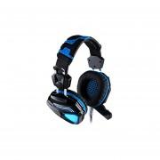 Audífonos Gamer, G5200 Auriculares De Juego 7.1 Auriculares De Juego De Vibración USB Envolvente (negro Azul)