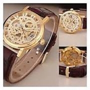 Bhavyam Fashion Transparent Fancy Skeletal Open Dial Champion Watch For Men PF-02