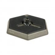 """plato hexagonal con tornillo 1/4"""" manfrotto 030-14"""