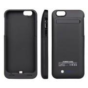 Power Bank Funda Cargador Externo iPhone 6Plus/6sPlus - Negro Power Bank GADGETSMX62277