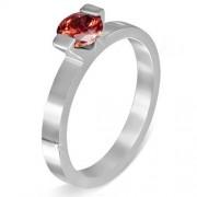 USA: 9 méretű nemesacél gyűrű ékszer