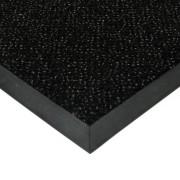 Černá textilní čistící vnitřní vstupní rohož Cleopatra Extra - 150 x 150 x 1 cm (77224212) FLOMAT