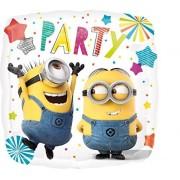 Burton and Burton Despicable Me Horary Party Balloon (Each), Multi Color, 17