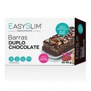Easyslim Barras Proteicas Duplo Chocolate 4 Unidades