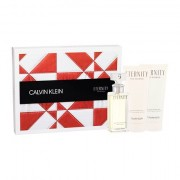 Calvin Klein Eternity confezione regalo eau de parfum 50 ml + lozione corpo 100 ml + doccia gel 100 ml per donna