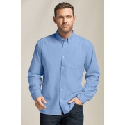 Mens Southcape Long Sleeved Oxford Shirt - New Blue