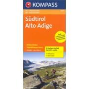 Fietskaart - Mountainbike Sudtirol Alto Adige 3401 | Kompass