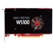 Placa video profesionala Sapphire FirePro W5100 4GB GDDR5 128-bit, mufe 4 monitoare