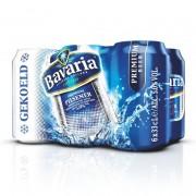 Bavaria Bier gekoeld blik 6 x 33 cl