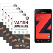 Pack of 5 Anti Shock Screen Guard (Not Tempered Glass) For Samsung Z4 by Vatsin