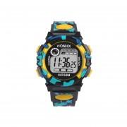 Reloj HONHX Multifunción Impermeable Deportes Electrónico Niños-amarillo