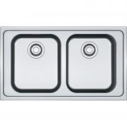 Chiuveta Franke Smart SRX 620 Inox lucios 101.0356.664, 860x500, 2B, Margine slim