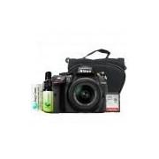 Câmera Nikon D5300, Af-p Dx 18-55mm Vr , Bolsa, Sdhc, Kit de Limpeza