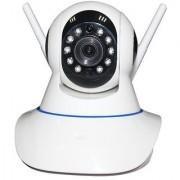 MIRZA Wireless HD CCTV IP wifi Camera | Night vision Wifi 2 Way Audio 128 GB SD Card Support for OPPO U3