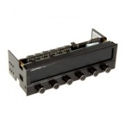 Lamptron FC5V3 Fan Controller 6 Canali 5.25 pollici - Nero