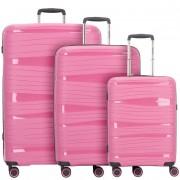 Travelite Motion 4-Rollen Set de voyage: valise, sac à dos et sac bandouliére
