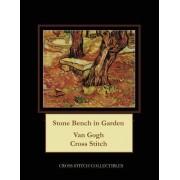 Stone Bench in the Garden: Van Gogh Cross Stitch Pattern