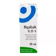 Hyabak União Química 10ml Solução Oftálmica