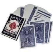 Double Back Bicycle Bridge Card Blue - Blue