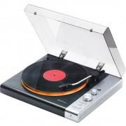 Mac Audio TT 100 BK E Gramofon Remenski pogon Crna, Srebrna