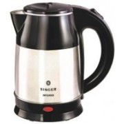 Singer Electric Kettle (1.8 Electric Kettle(1.8 L, , Silver, Black)