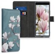 kwmobile Flipové pouzdro pro Sony Xperia 20 - šedá
