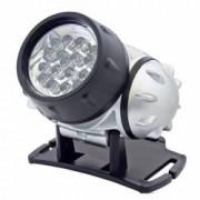 Lanterna frontala 19 LED-uri lumina alb rece 4 moduri iluminare Home