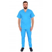 Costum medical turquoise unisex