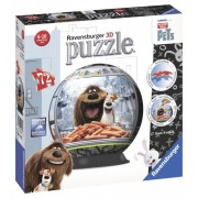 Puzzle 3D - The Secret Life of Pets, 72 piese