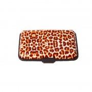 V&V Pouzdro na doklady a peněženka Aluma Wallet (hnědý gepard)