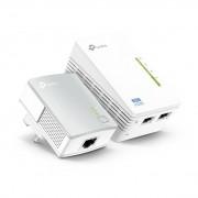 Kit 2 adaptoare Powerline Extender Wi-Fi AV600 TP-Link TL-WPA4220KIT - 300 Mbps