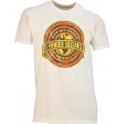 Fender T Shirt Worldwide Tan M