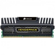 ram DDR3, 1600MHz 8GB 1x240 Dimm, Unbuffered, 10-10-10-27, with Vengeance Black Heat Spreader - Core i7, Core i5 and Core 2, 1.5V - CMZ8GX3M1A1600C10