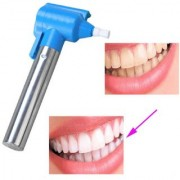 Rubber Head Tooth Polisher for Teeth Whitening Burnisher Polisher Whitener Stain Remover with LED Light Luma Smile