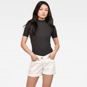 G-star RAW Femmes T-Shirt Xinva Funnel Noir