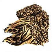 Bufanda Marrón y beige