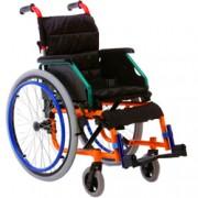 sedia a rotelle / carrozzina pediatrica in alluminio - peso 15kg - por