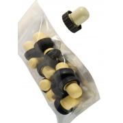 Set dopuri silicon cu cap de plastic