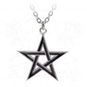 obojek ALCHEMY GOTHIC - Black Star - P775