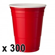 StudyShop 300 st. Red Cups Röda Muggar (16 Oz.)