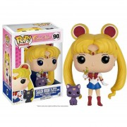 Funko Pop Sailor Moon With Stick And Luna Exclusiva Anime