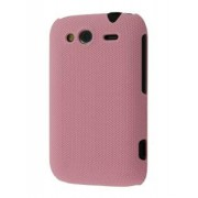 Micro Mesh Case for HTC Wildfire S - HTC Hard Case (Light Pink)