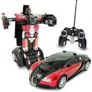 Transformer Converting Car to Robot Transformer with Remote Controller for Kids (Multi Color)