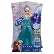 Papusa Disney Frozen Elsa Canta(Franceza,Italiana,Spaniola,Portugheza)