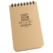 Rite in the Rain 3x5'' Tan (Resistente à água)