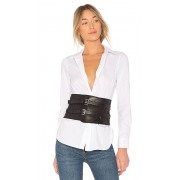 Lovers + Friends Lincoln Belt in Black. - size S (also in L,M,XS)