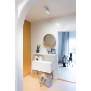 Zuiver Dressoir High On Wood - L90 X B40 X H80 Cm - 2DO - Wit