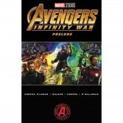 Turnaround Comics Novel gráfica Marvel's Avengers: Infinity War Prelude